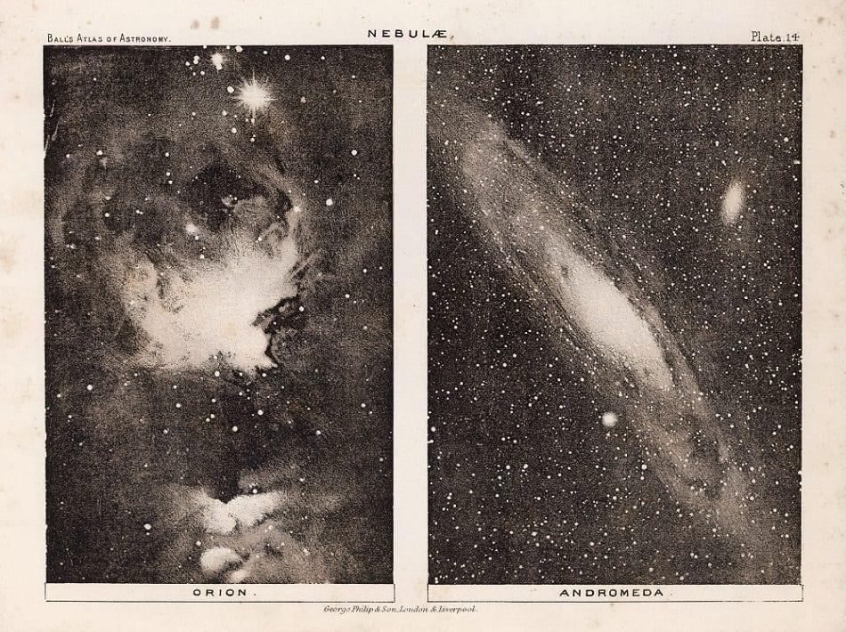 Robert Stawell Ball. 14. Nebulae, 1892
